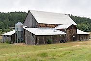This Heritage Barn (built around 1900) is situated near the original farm house on the Ruckle Farm.  Photographed at Ruckle Provincial Park on Salt Spring Island, British Columbia, Canada