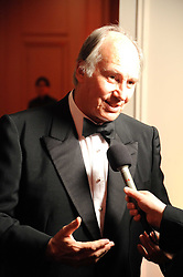 HRH The AGA KHAN at the annual Cartier Racing Awards held at the Grosvenor House Hotel, Park Lane, London on 17th November 2008.
