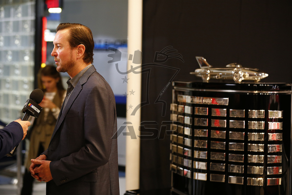 February 27, 2017 - Daytona Beach, Florida, USA: Kurt Busch (41) attends the Daytona 500 breakfast after winning the Daytona 500 at Daytona International Speedway in Daytona Beach, Florida.