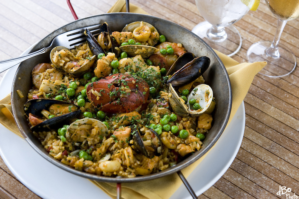 Casona restaurant's paella, Wednesday, June 9, 2010 in Collingswood.