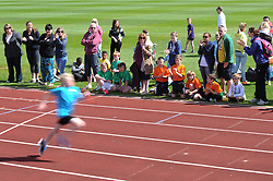 Parents and children show their support during the Bristol Sport Youth Festival - Photo mandatory by-line: Dougie Allward/JMP - Mobile: 07966 386802 - 06/06/2015 - SPORT - Multi-Sport - Bristol - SGS Wise Campus - Bristol Sport Festival Of Youth Sport - Festival Of Youth