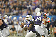 Ole Miss vs. TCU Horned Frogs quarterback Trevone Boykin (2) in the Peach Bowl, in Atlanta, Ga. on Wednesday, December 31, 2014.