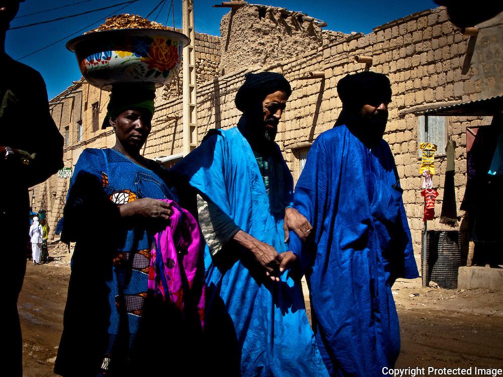 Tuaregs in Timbuktu, Mali .