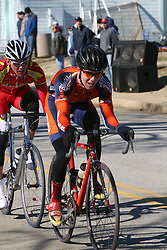 Mark Hardman leading the Men's A race at the 2006 Navy Criterium held at the U.S. Naval Academy, Annapolis, Maryland.