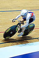 Picture by Ian Wadkins/Focus Images Ltd +44 7877 568959<br /> 02/11/2013<br /> Laura Trott of Team GB pictured during day two of the UCI Track Cycling World Cup  at the National Cycling Centre, Manchester.