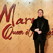 Composer Max Richter Arrivers at Mary, Queen of Scots - European premiere at Cineworld,  Leicester Square on 10 December 2018, London, UK.