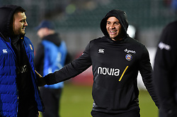 Jonathan Joseph of Bath Rugby looks on prior to the match - Mandatory byline: Patrick Khachfe/JMP - 07966 386802 - 06/12/2019 - RUGBY UNION - The Recreation Ground - Bath, England - Bath Rugby v Clermont Auvergne - Heineken Champions Cup