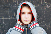 17 February 2013:  Logan Niedermaeyer, 13 in Newport Beach's Back Bay for grade 8 photos.  ©ShellyCastellano Personal Use Only