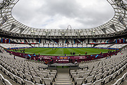 General view of the London Stadium ahead of the FA Women's Super League match between West Ham United Women and Tottenham Hotspur Women at the London Stadium, London, England on 29 September 2019.