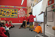 West Thurrock Primary School interior, designed by Atkins Education Architects