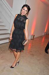 DANIELLE LINEKER at a dinner in aid The Journalism Foundation held at Philips De Pury & Company, Howick Place, London, SW1 on 22nd May 2012.