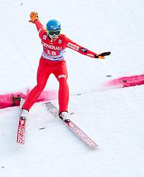 01.01.2014, Olympiaschanze, Garmisch Partenkirchen, GER, FIS Ski Sprung Weltcup, 62. Vierschanzentournee, Bewerb, im Bild Jan Ziobro (POL) // Jan Ziobro (POL) during Competition of 62nd Four Hills Tournament of FIS Ski Jumping World Cup at the Olympiaschanze, Garmisch Partenkirchen, Germany on 2014/01/01. EXPA Pictures © 2014, PhotoCredit: EXPA/ JFK