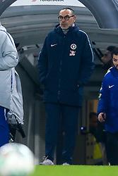 Chelsea manager Maurizio Sarri - Mandatory by-line: Robbie Stephenson/JMP - 24/01/2019 - FOOTBALL - Stamford Bridge - London, England - Chelsea v Tottenham Hotspur - Carabao Cup