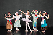 Sacramento Ballet students pose for their portraits during Nutcracker Photo Day 2018 at Sacramento Ballet in Sacramento, California, on November 4, 2018. (Stan Olszewski/SOSKIphoto)