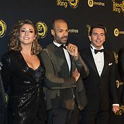 NLD/Amsterdam/20191009 - Uitreiking Gouden Televizier Ring Gala 2019, Beste zangers 2018, Glenn Faria, Alain Clark, Davina Michelle, Jan Smit , Maria Fiselier, Lee Towers