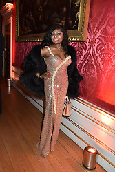 Patti Boulaye at the Tusk Ball at Kensington Palace, London, England. 09 May 2019.