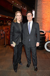 VISCOUNT & VISCOUNTESS DUNLUCE at A Night of Motown in aid of Save The Children UK held at The Roundhouse, Chalk Farm Road, London on 3rd March 2016.