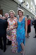 ONDINE DE ROTHSCHILD AND HER MOTHER, Otello at the Grosses Festspielhaus and afterwards  Gala dinner at the Donald Kahn lounge.  Salzburg.  Amadeus Weekend. Salzburg. 24 August 2008.  *** Local Caption *** -DO NOT ARCHIVE-© Copyright Photograph by Dafydd Jones. 248 Clapham Rd. London SW9 0PZ. Tel 0207 820 0771. www.dafjones.com.