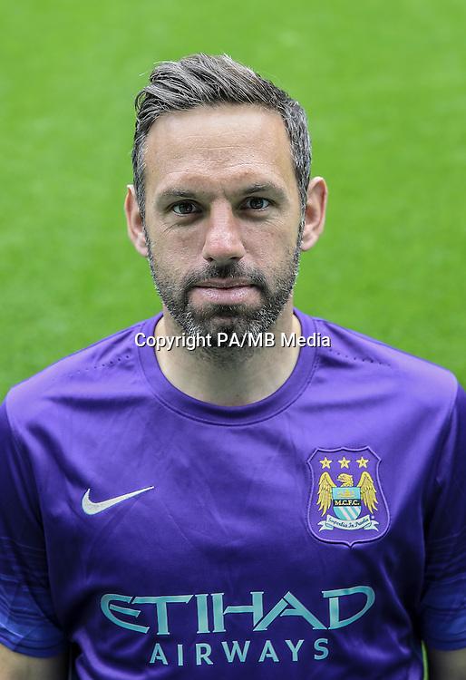 Manchester City goalkeeper Richard Wright