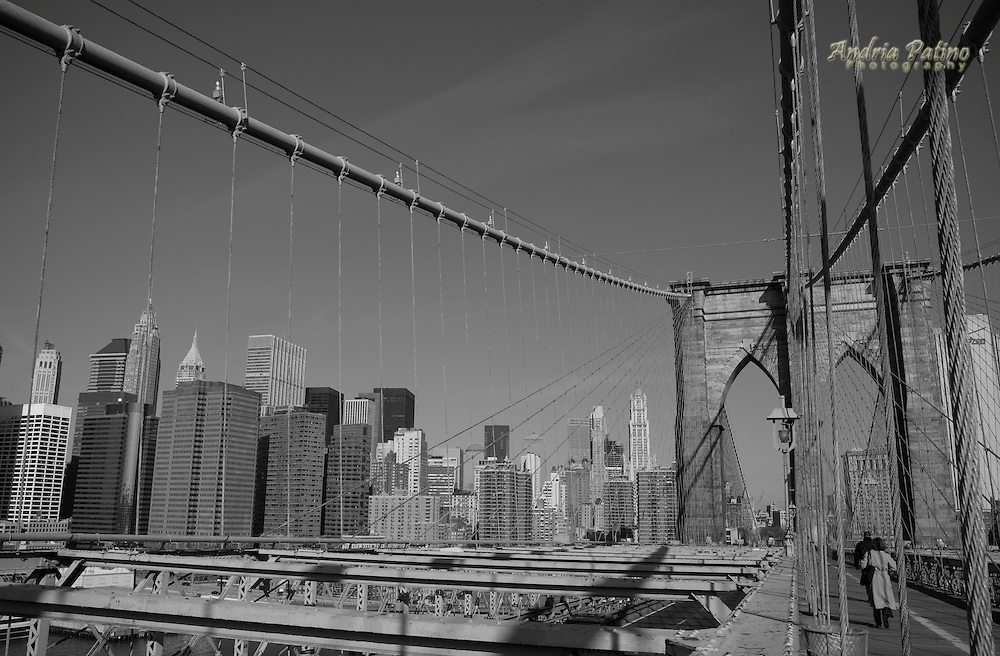 Commuting to work across the Brooklyn Bridge