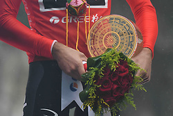 October 21, 2018 - Guilin, China - Gianni Moscon of Italy and Team SKY wins the 2nd Cycling Tour de Guangxi 2018. .On Sunday, October 21, 2018, in, Guilin, China. (Credit Image: © Artur Widak/NurPhoto via ZUMA Press)