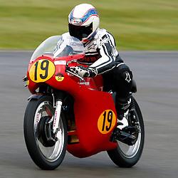 GOODWOOD REVIVAL....Wayne Gardner during qualifying for the weekend races...(c) STEPHEN LAWSON | SportPix.org.uk