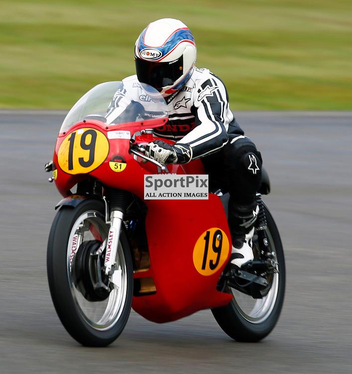 GOODWOOD REVIVAL....Wayne Gardner during qualifying for the weekend races...(c) STEPHEN LAWSON   SportPix.org.uk
