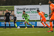 Forest Green Rovers Jake Gosling(31) runs forward during the Vanarama National League match between Forest Green Rovers and Braintree Town at the New Lawn, Forest Green, United Kingdom on 21 January 2017. Photo by Shane Healey.