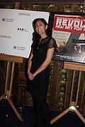 SMILYNNE JOUKOVSKI, Premiere of Revolution, New Art For a New World ,  Curzon cinema , London. 10 Nov 2016