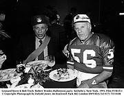 Leonard Stern & Bob Tisch. Robert Wooley Halloween party. Sotheby's. New York. 1993. Film 93381f11<br />© Copyright Photograph by Dafydd Jones<br />66 Stockwell Park Rd. London SW9 0DA<br />Tel 0171 733 0108