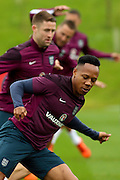 England players go through their training drills during the England Training Session at St George's Park National Football Centre, Burton-Upon-Trent, United Kingdom on 7 October 2015. Photo by Aaron Lupton.