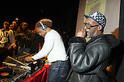 DJ Kool Herc at ' Bring out the Sound System: The West Indian Roots of HipHop held at The Point on February 28, 2009 in the Bronx, NY..It is a known fact that the trinity of Hip Hop DJ pioneers have roots in the West Indies including DJ Kool Herc, Afrika Bambaataa, and Grandmaster Flash. Other early artists who made significant contributions to the music include Kool DJ Red Alert, KRS-One, Doug E. Fresh, among others.   ..Post World War II Bronx had a growing community of West Indian immigrants, particularly after the U.S. Immigration Act of 1965.  Recreation rooms at 1520 Sedgwick where Kool Herc deejayed and Bronx River Houses where Afrika Bambaataa held court as well as many local parks and early venues like the Black Door, where Grandmaster Flash rocked, mark the cradle of Hip Hop.