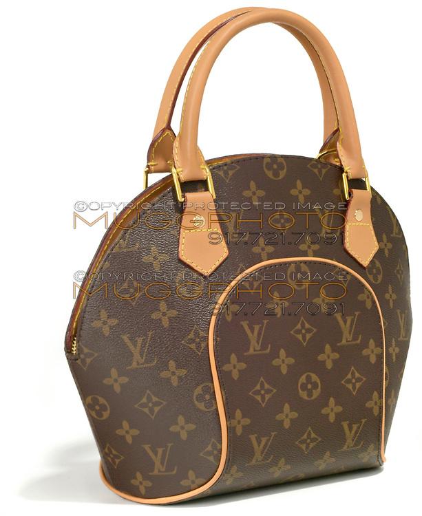 louis vuitton monogrammed bowling bag style handbag