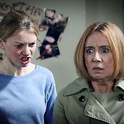 Fair City Eps 172<br /> TX: Sunday November 4th, 2012<br /> Lucy tells how her mother died<br /> [L-R]<br /> Lucy - Lorna Quinn<br /> Dolores - Martina Stanley