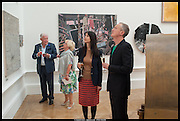 FRANK DUNPHY; LANA DUNPHY; GILLIAN WEARING; MARTIN CREED, Royal Academy of Arts Summer Exhibition 2014. Piccadilly. London. 4 June 2014.
