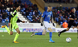 Marcus Maddison of Peterborough United gets away from Jason Lowe of Bolton Wanderers - Mandatory by-line: Joe Dent/JMP - 14/12/2019 - FOOTBALL - Weston Homes Stadium - Peterborough, England - Peterborough United v Bolton Wanderers - Sky Bet League One
