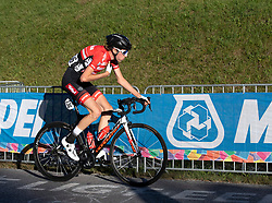 27.09.2018, Innsbruck, AUT, UCI Straßenrad WM 2018, Straßenrennen, Junioren, von Kufstein nach Innsbruck (138,4 km), im Bild Jakob Reiter (AUT) // Jakob Reirer of Austria during the road race of the Junior Men from Kufstein to Innsbruck (138,4 km) of the UCI Road World Championships 2018. Innsbruck, Austria on 2018/09/27. EXPA Pictures © 2018, PhotoCredit: EXPA/ Reinhard Eisenbauer