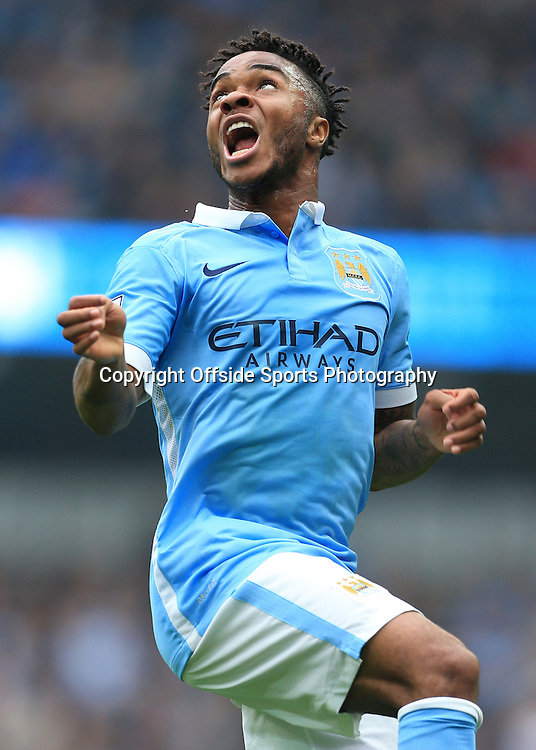 3rd October 2015 - Barclays Premier League - Manchester City v Newcastle United - Raheem Sterling of Man City - Photo: Simon Stacpoole / Offside.