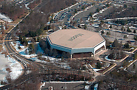 Aerial view of George Mason University, Fairfax, Virginia
