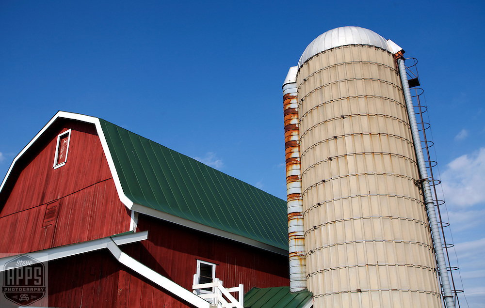 A collection of Barns that still can be seen while traveling the countryside in  the beautiful State of Wisconsin.<br /> Dane County-Eplegaarden farm in Dane County. 2227 Fitchburg Road, Fitchburg. Barns from around the State of Wisconsin.