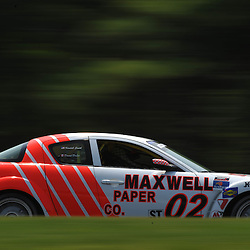May 23, 2009; Lakeville, CT, USA; The Maxwell Paper Racing Mazda RX-8 qualifies for Grand-Am Koni Sports Car Challenge series competition during the Memorial Day Road Racing Classic weekend at Lime Rock Park.