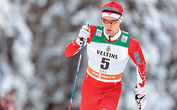 27.11.2016, Nordic Arena, Ruka, FIN, FIS Weltcup Langlauf, Nordic Opening, Kuusamo, Herren, im Bild Knute Johnsgaard (CAN) // Knute Johnsgaard of Canada during the Mens FIS Cross Country World Cup of the Nordic Opening at the Nordic Arena in Ruka, Finland on 2016/11/27. EXPA Pictures © 2016, PhotoCredit: EXPA/ JFK