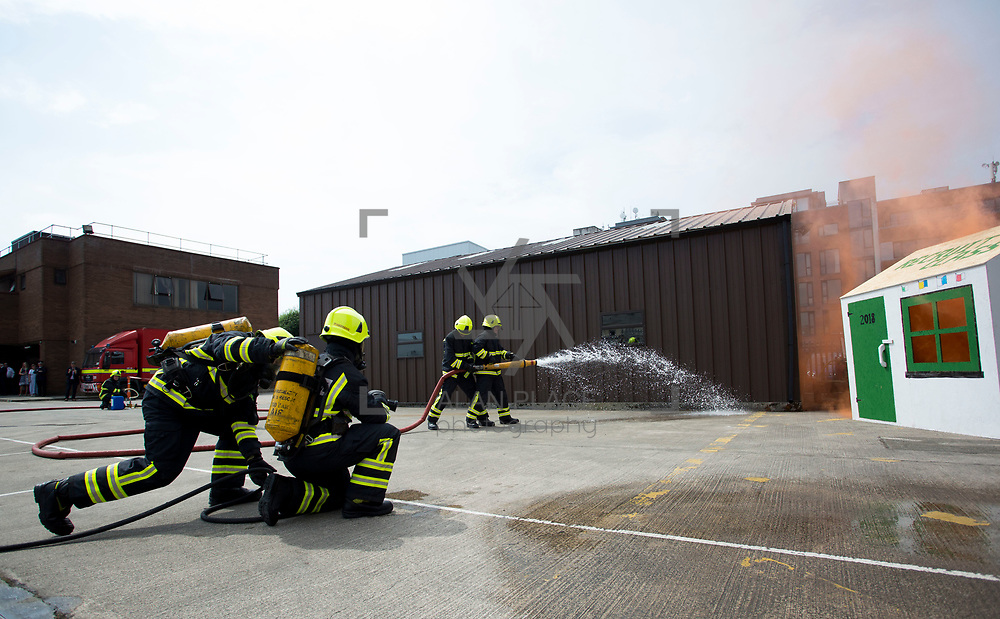 01.06.2018.         <br /> Six new recruits have joined the ranks of Limerick&rsquo;s Fire and Emergency Services following their official passing out parade in Mulgrave Street Station this afternoon [Friday 01 June 2018].<br />  <br /> The ceremony is the culmination of 15 weeks of intensive training and drills for Class 1 of 2018.<br />  <br /> The six new recruits are full time firefighters and will be based in Mulgrave Street.  They will be assigned to their &lsquo;Watch&rsquo; following the ceremony. Picture: Alan Place