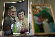 Liz and Tom Collier sit for a moment on their couch and recall the history of their youth and their relationship. They were married seventy-six years ago on Wednesday.