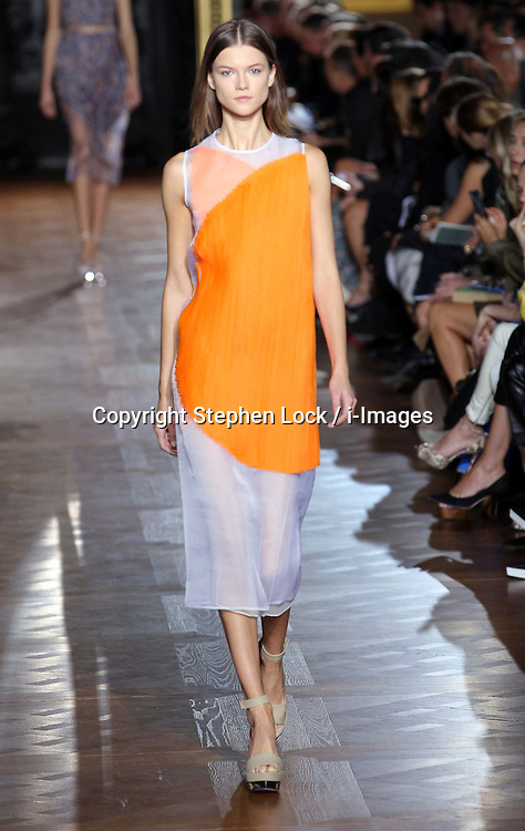 Stella McCartney show at Paris Fashion Week for spring/sumer 2013 , Monday, October 1st  2012. Photo by: Stephen Lock / i-Images