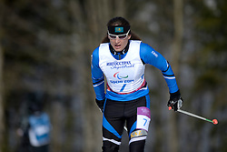 KOLYADIN Alexandr competing in the Nordic Skiing XC Long Distance at the 2014 Sochi Winter Paralympic Games, Russia