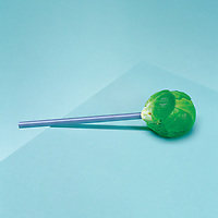 Brussel sprout lolly