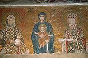 TURKEY, ISTANBUL, BYZANTINE Aya Sofya; Mary, John II, Irene
