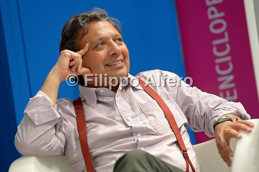 &copy; Filippo Alfero<br /> Salone Internazionale del Libro 2013<br /> Torino, 17/05/2013<br /> Nella foto: Piero Chiambretti