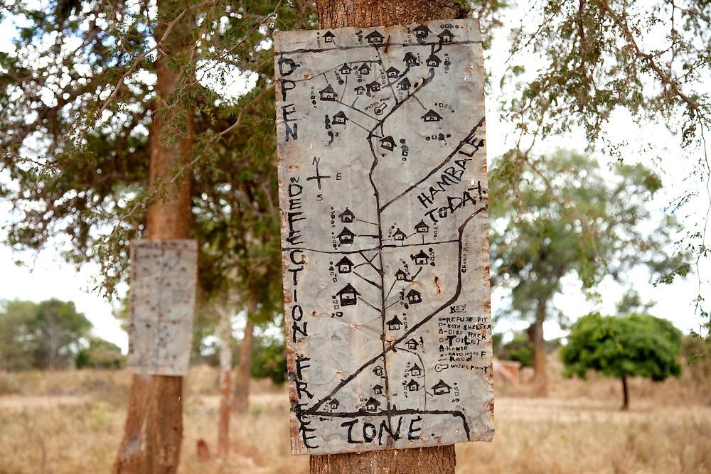 Hygiene educator Francesca. Hambale village, Chipembele ward, Zambia.